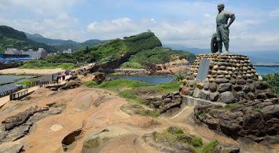 Liburan ke Yehliu Geopark Taiwan