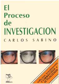 el proceso de investigacion carlos sabino libro completo pdf
