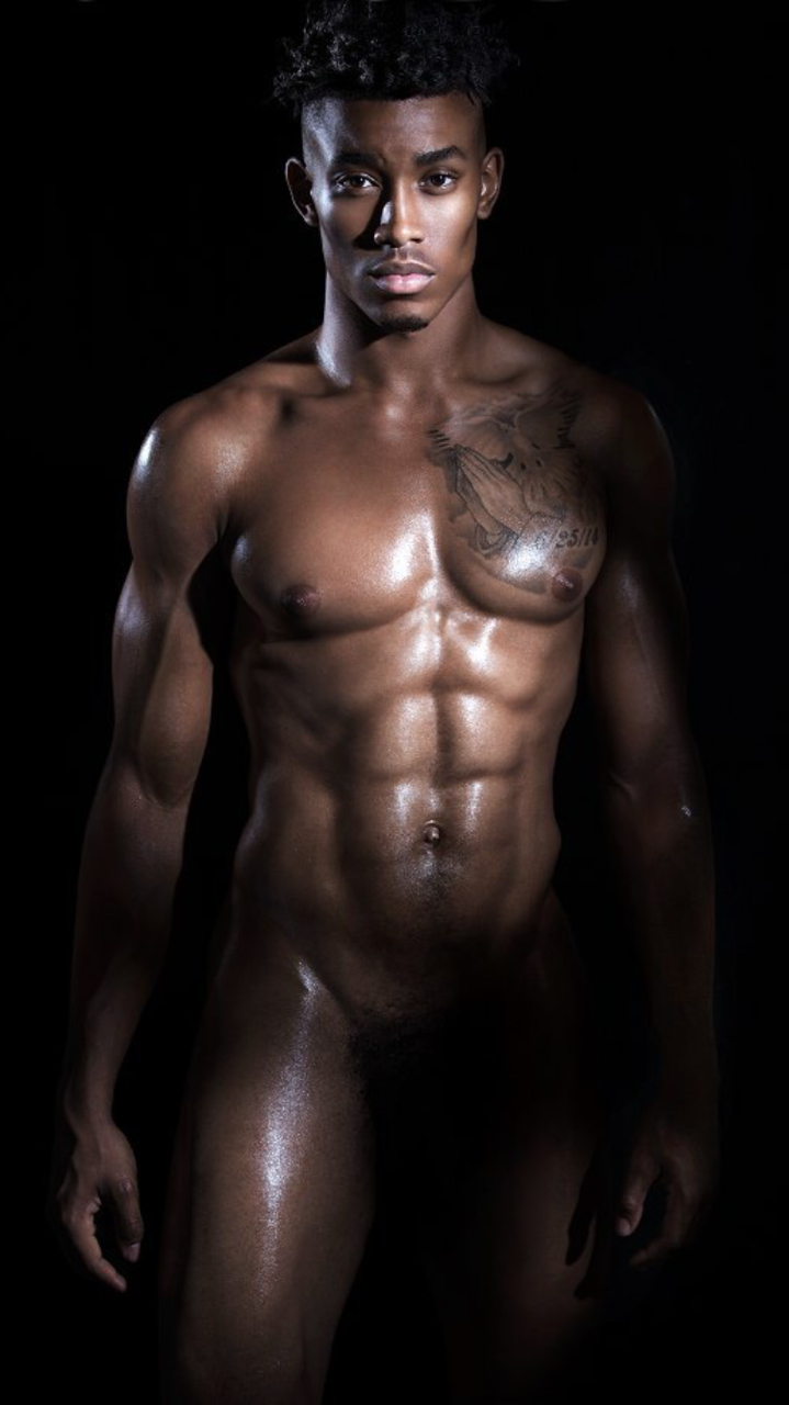 Black nude male — photo 13
