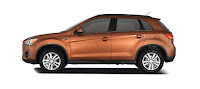 Mitsubishi Outlander Warna Orange Atau Copper Metallic