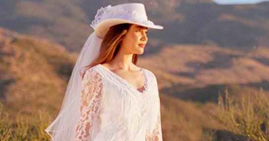 Cowboy Weddings Ideas: Cowboy Wedding Dress
