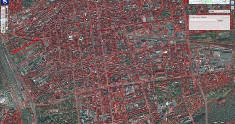 Wyszukaj Dzialke Mapa Geodezyjna Z Numerami Dzialek Mapago Pl
