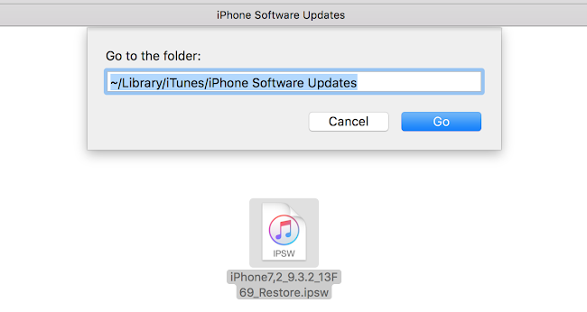 iTunes Download location on Mac
