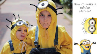 halloween costume costumes idea minion minions despicable me