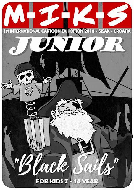 "1st International Cartoon Exhibition 2018 ""Black Sails"" for Junior"
