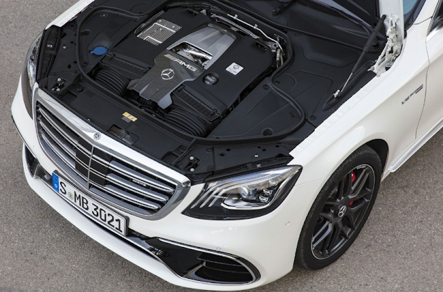 2018 Mercedes-AMG S63 Review Engine