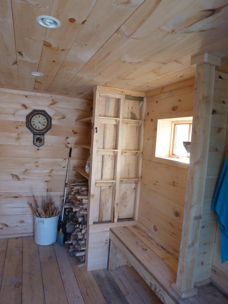 Ben S Natural Building Building A Rocket Stove Sauna