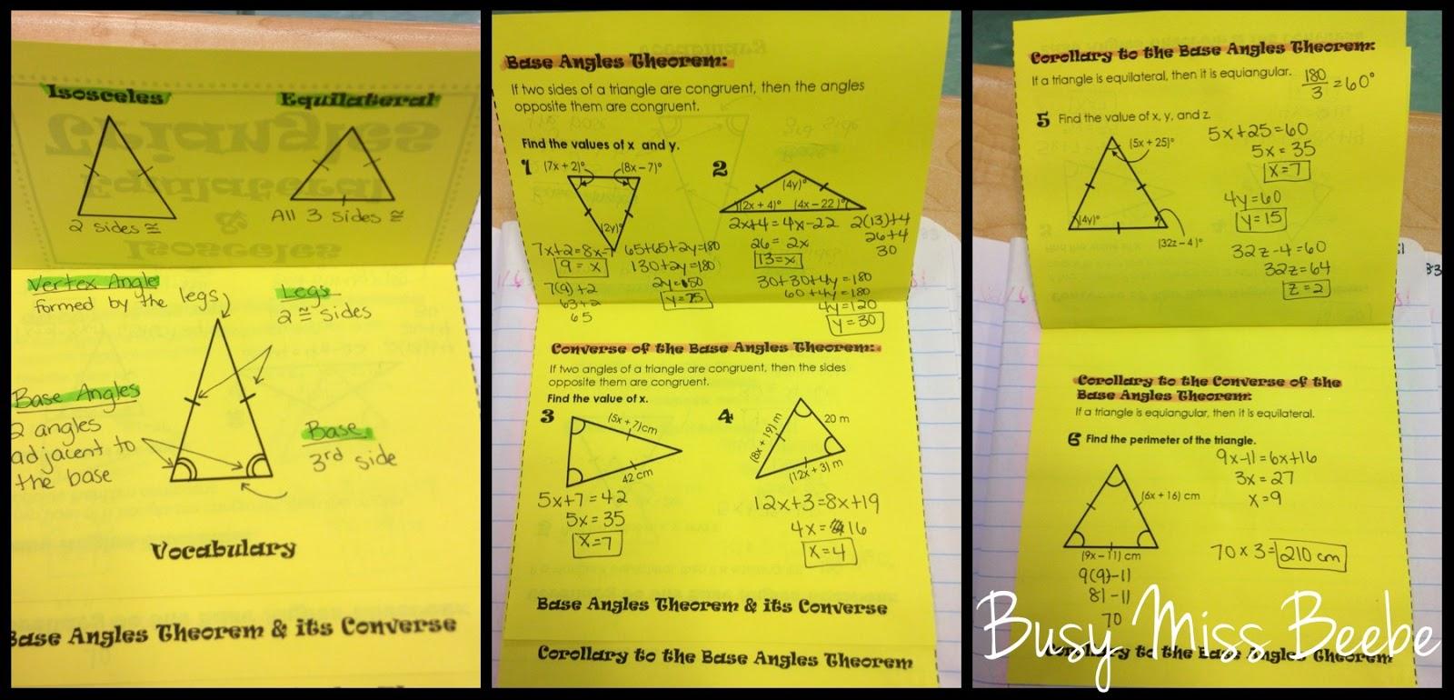 gina wilson all things algebra 2016 similar triangles