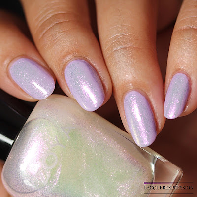 Nail polish swatches and review of Leia from the Zoya Bridal Bliss collection