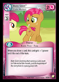 My Little Pony Babs Seed, Cutie Marked Equestrian Odysseys CCG Card