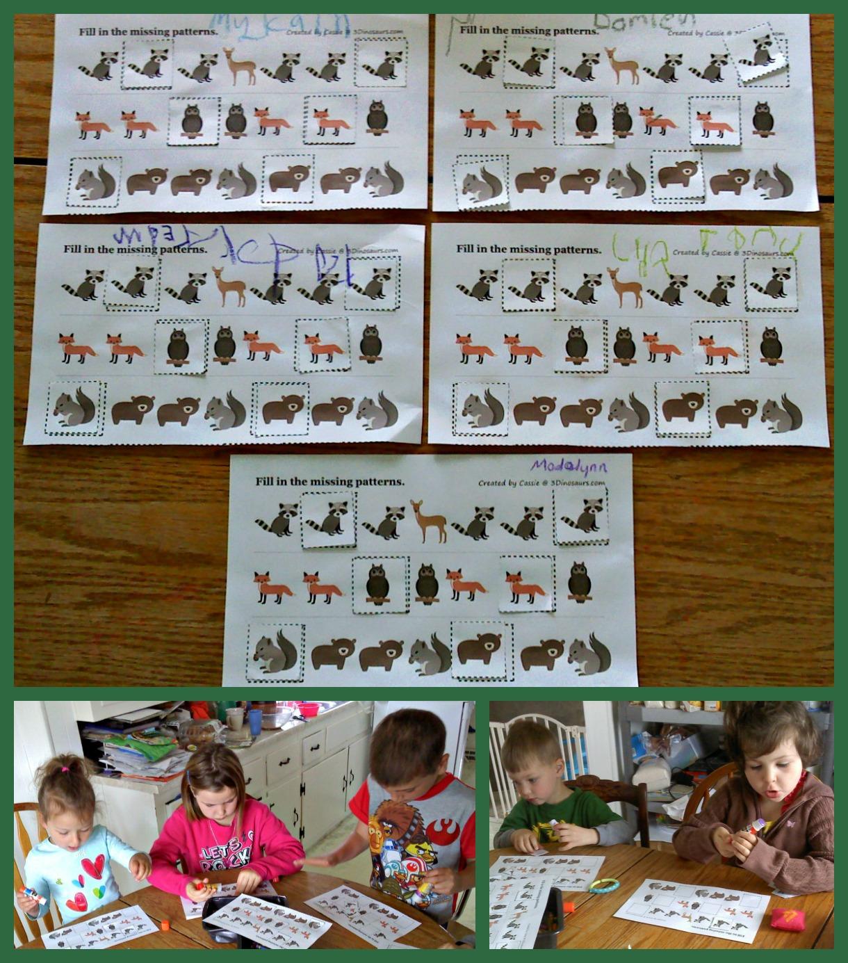The Walnut Acre Chronicles Woodland Animals Unit Study
