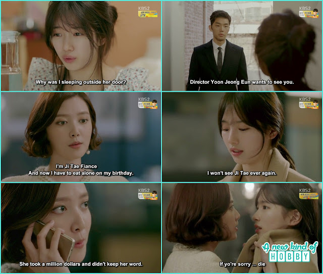 jeong eun become a monster and grab eul coat - Uncontrollably Fond - Episode 14 Review