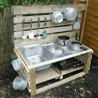 DIY Projects - Simple Pallet Kitchen Furniture Ideas