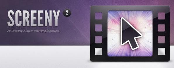 Screeny screen capturing app for Mac