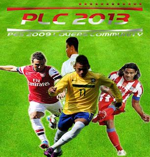PES 2009 PLC Patch 2013 Season 2012/2013