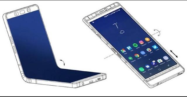 Greget....! Samsung Galaxy X Di Hargai 25 Juta Dengan Bentuk Bisa Di Lipat !