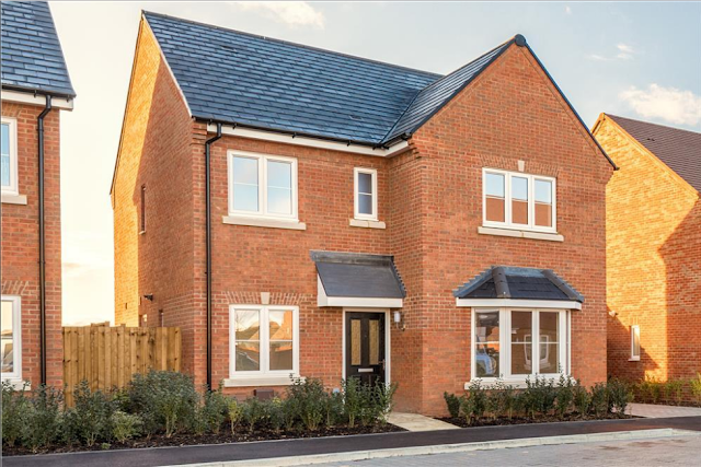 4 bed house, Blenheim at Bader Heights, Tangmere