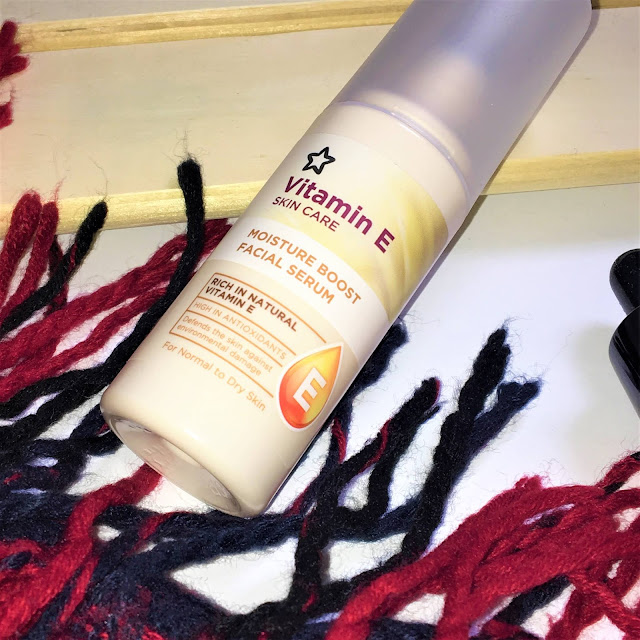 Superdrug Vitamin E Moisture Boost Facial Serum