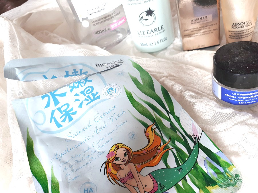 Bioaqua seaweed extract sheet mask, review, empties, The Style Guide Blog