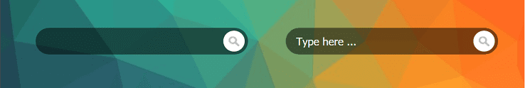 Beautiful CSS for default search widget