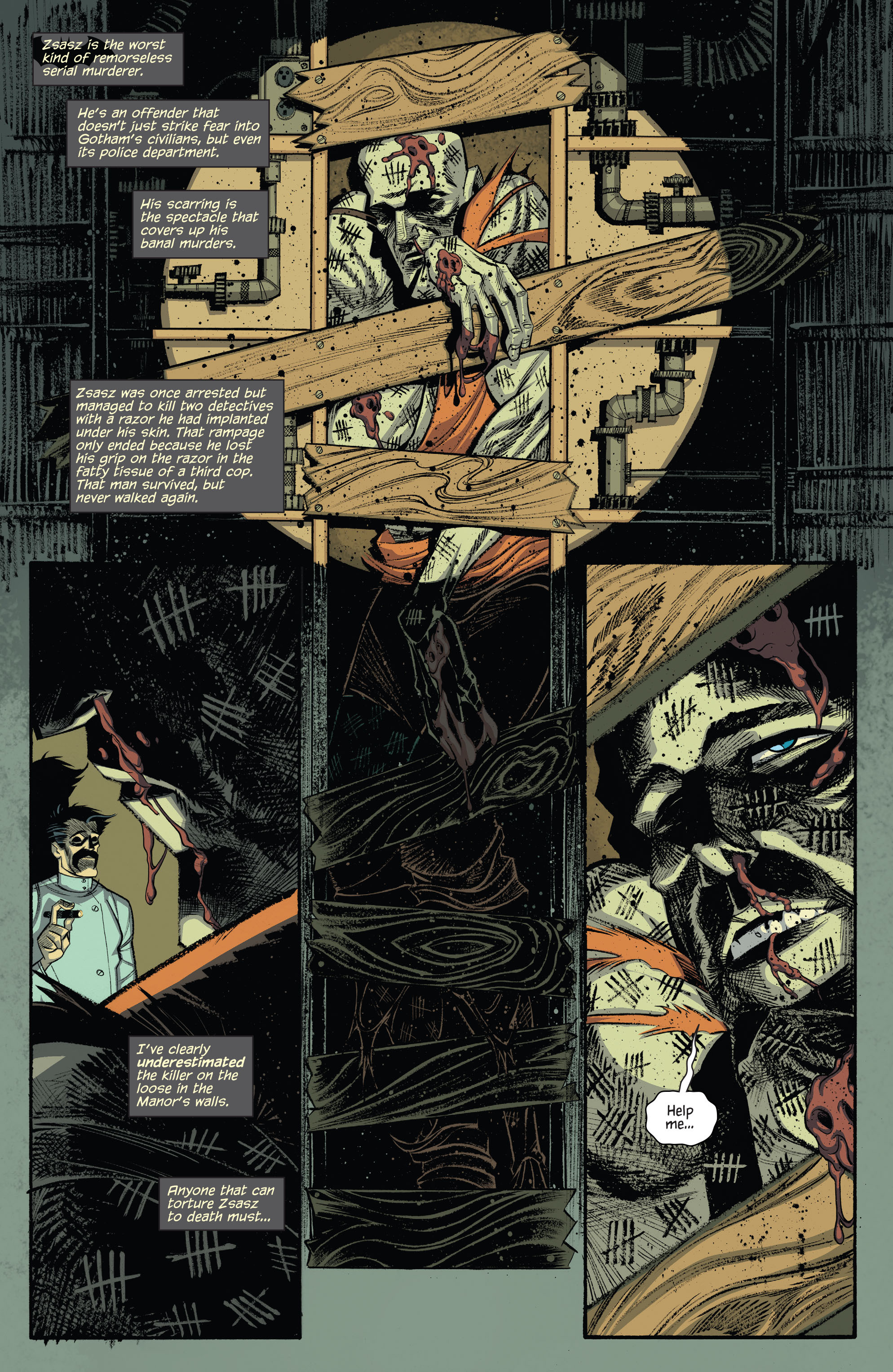 Read online Arkham Manor comic -  Issue #3 - 14