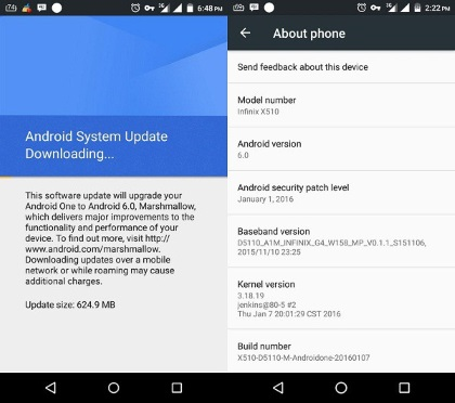 How to Upgrade Your Infinix Hot 2 Android One to Android 6 0