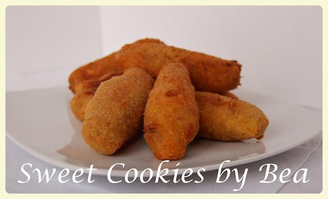 Croquetas de cebolla caramelizada y feta