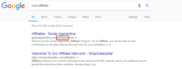Advance Google search tricks in SEO
