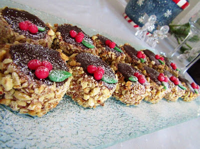 Nugat tortice / Hazelnut mini cakes