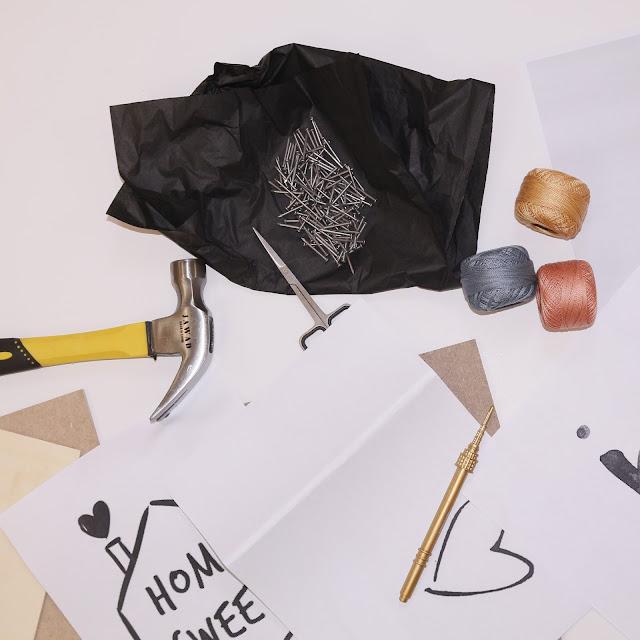 فن الخيوط DIY