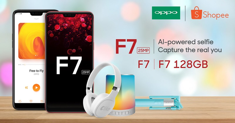 Score The OPPO F7 Package Deal From Shopee And Get Exclusive Freebies!