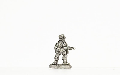 KNK6   Standing, cap, firing PPSh M1941 SMG