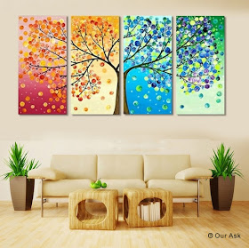 Cross Painting Modern Wall Art