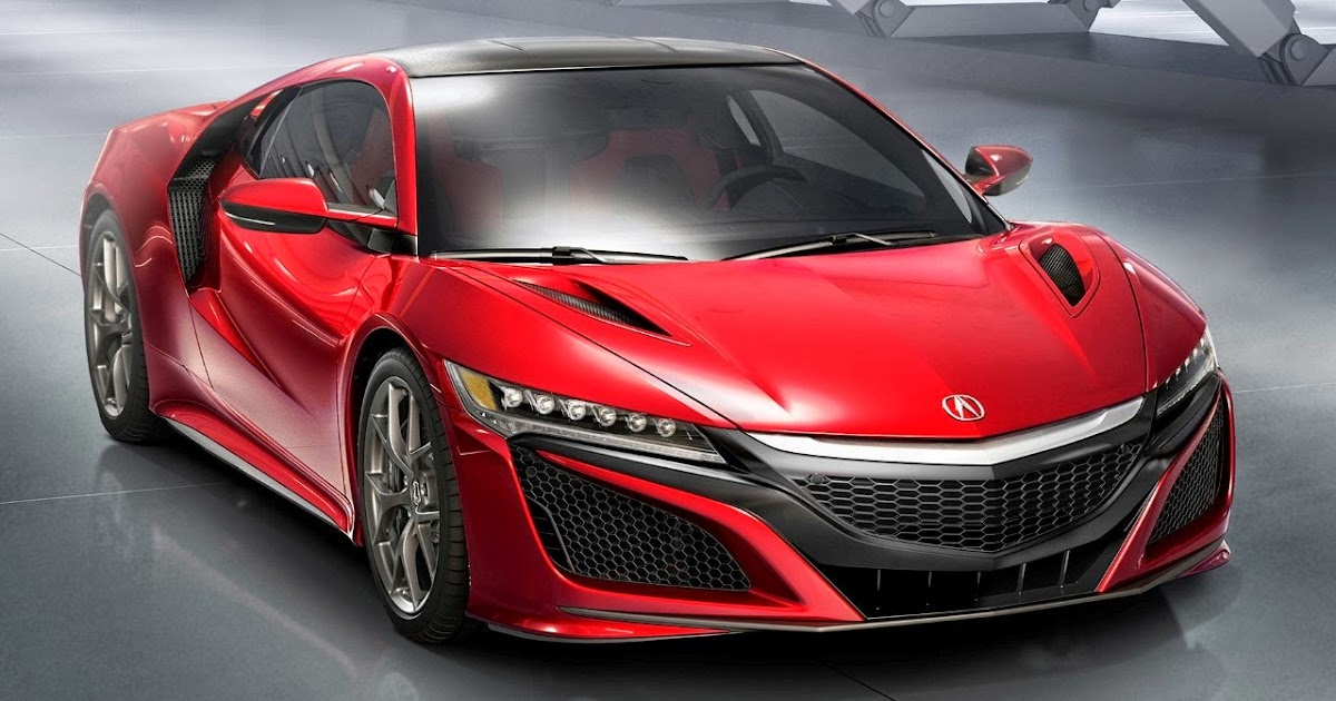 ANYTHING ON WHEELS: 2015 Detroit - Honda NSX vows in production form, finally