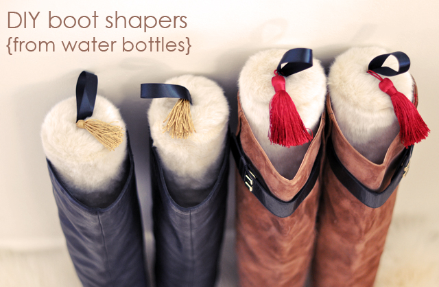 DIY gifts, faux fur boot stuffers