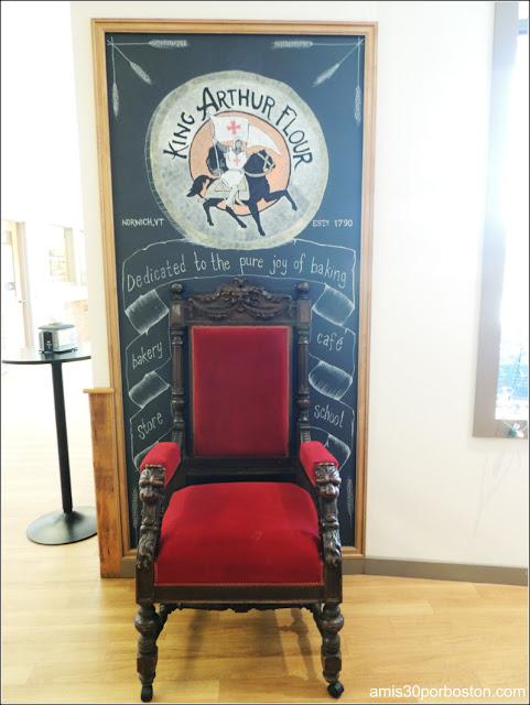 Tienda Insignia de la King Arthur Flour: Trono