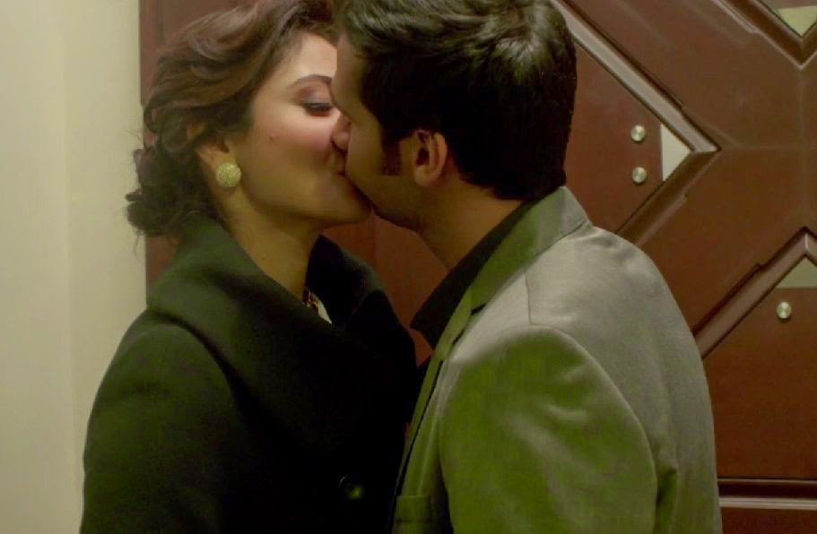 Anushka Sharma as Meera and Neil Bhoopalam as Arjun in NH10, Directed by Navdeep Singh
