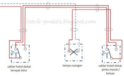 Instalasi listrik saklar hotel yang benar listrik praktis wiring diagram saklar hotel asfbconference2016 Choice Image