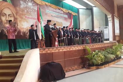 Pelantikan NU Jateng, Ganjar Pranowo; Susun Pengembangan Ekonomi Pesantren