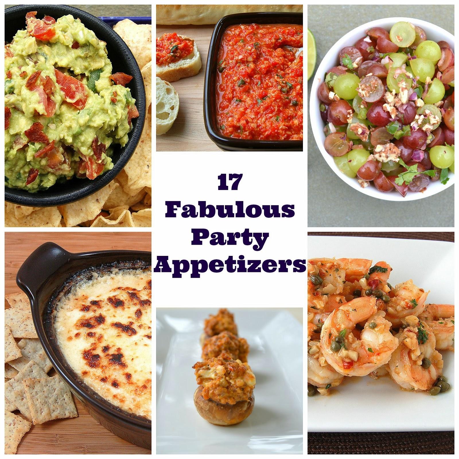 17 Fabulous Party Appetizer Recipes