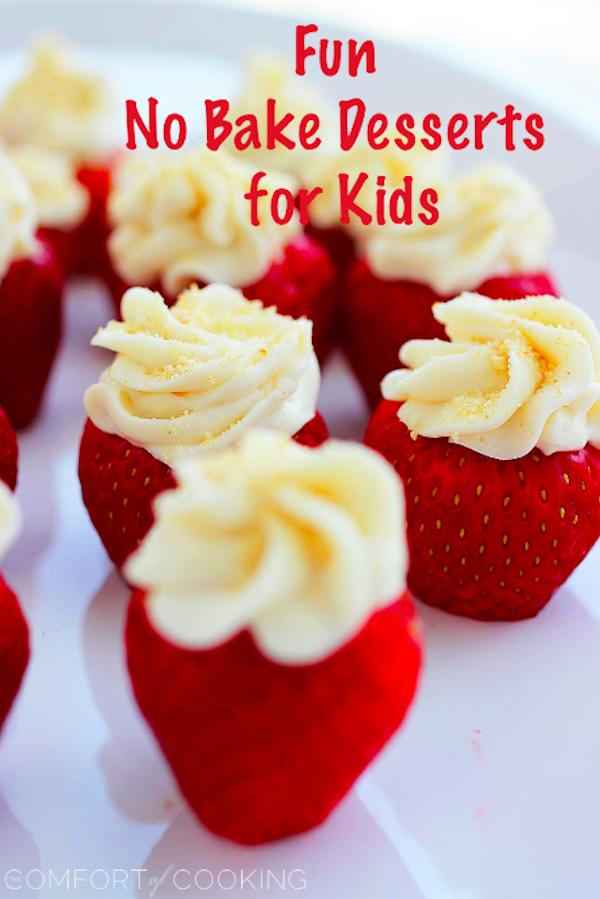 My LuxeFinds: Fun Kid Friendly No Bake Desserts