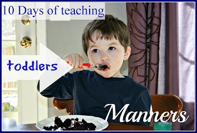 toddler manners homeschool preschool