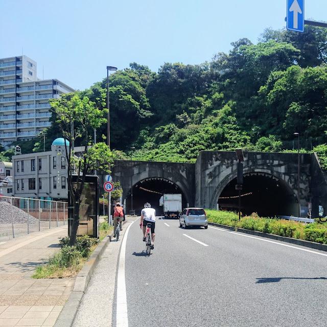 国道16号 横須賀隧道
