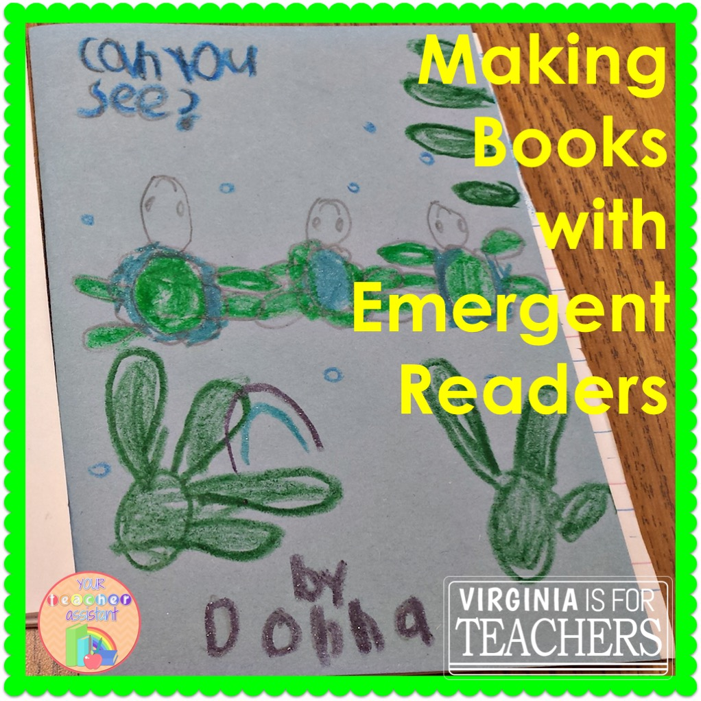 Looking for a way to keep your emergent readers motivated and excited this time of year? Try making books! Take a look at how I do it here.