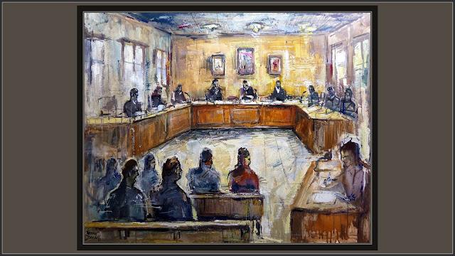 JUICIOS-PINTURA-JUZGADOS-ARTE-DERECHO-JUSTICIA-JUZGADO-ABOGADOS-JUECES-JUTJATS-CUADROS-PINTOR-ERNEST DESCALS