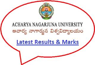 Nagarjuna University Results 2020
