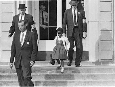 Ruby Bridges - New Orleans, Louisiana 1960