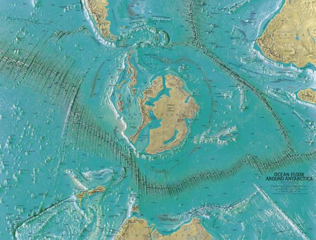 La Mappa di Heinrich C Berann.
