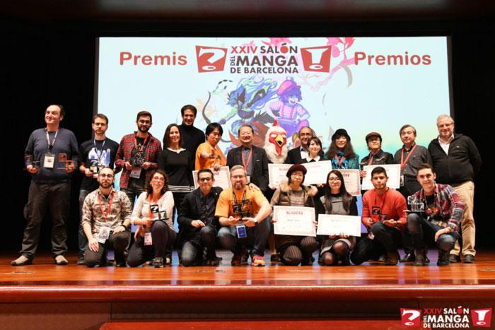 Premios XXIV Salón del Manga de Barcelona