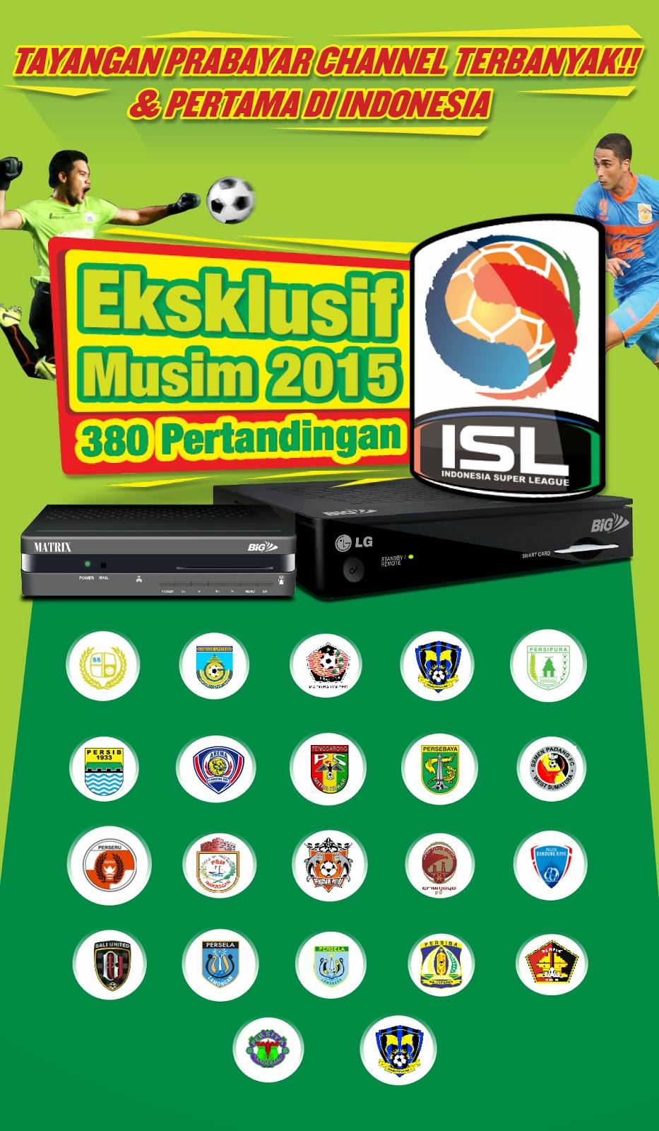 Eksklusif ISL Musim 2015